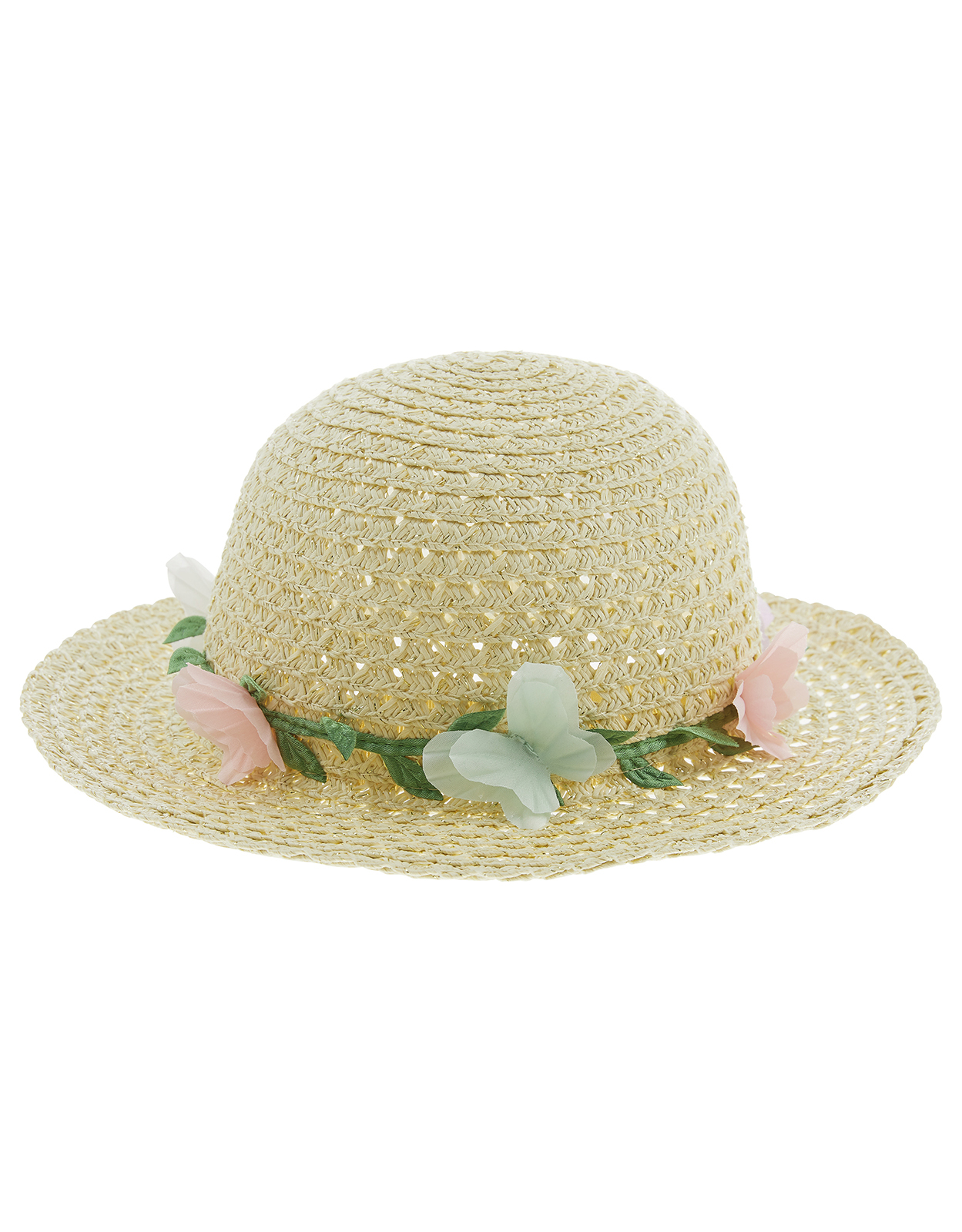Monsoon Baby Pastel Butterfly Floppy Hat