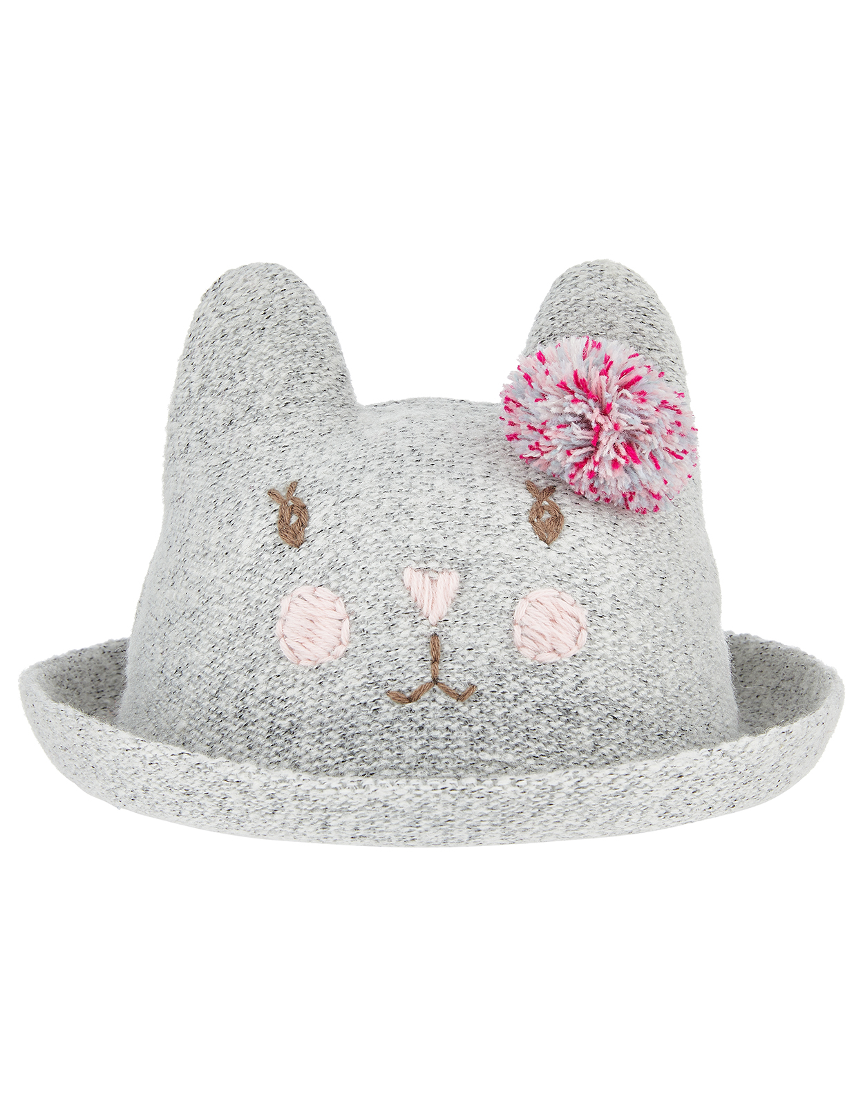Monsoon Baby Clementine Cat Bowler Hat