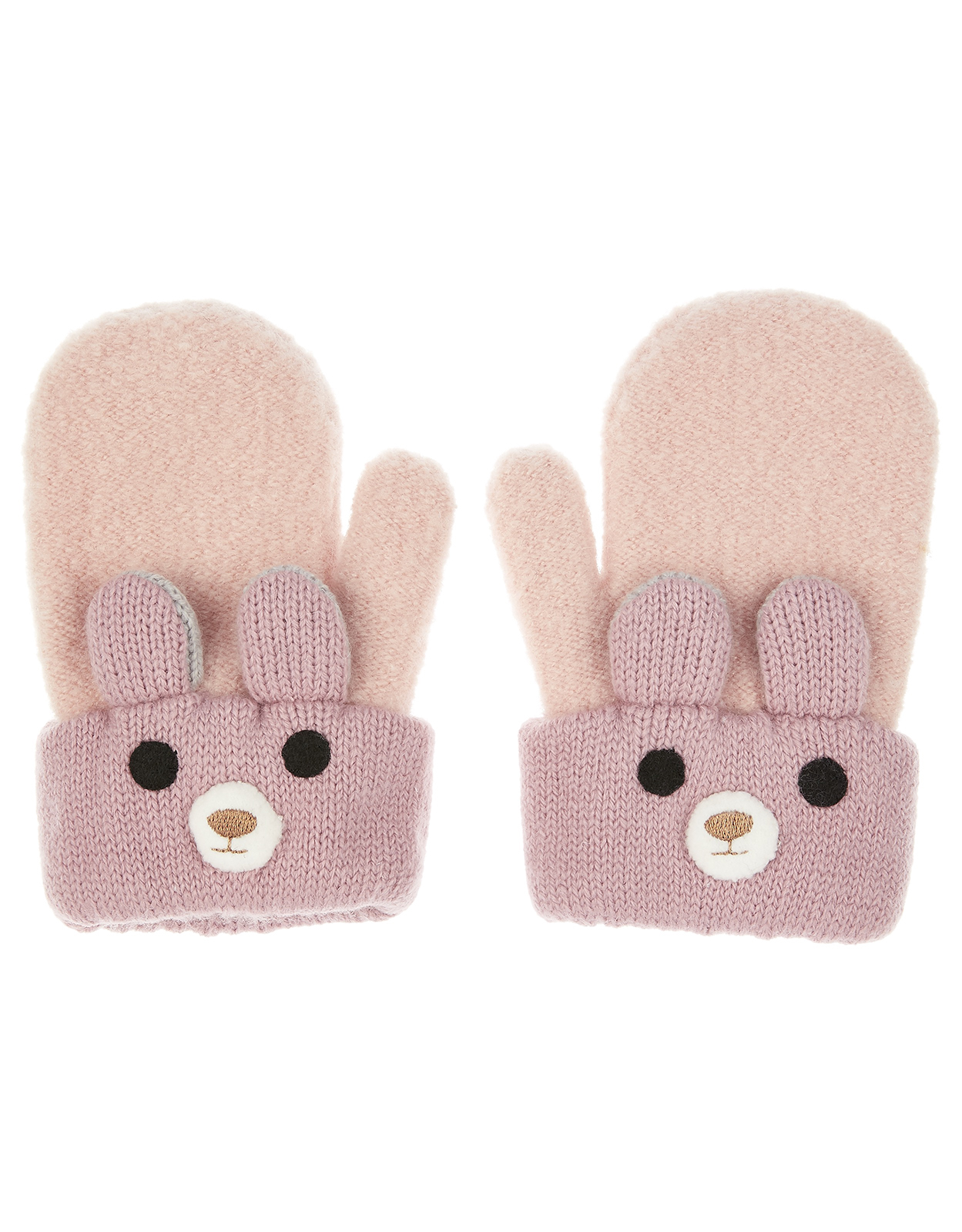 Monsoon Baby Amber Bear Mittens