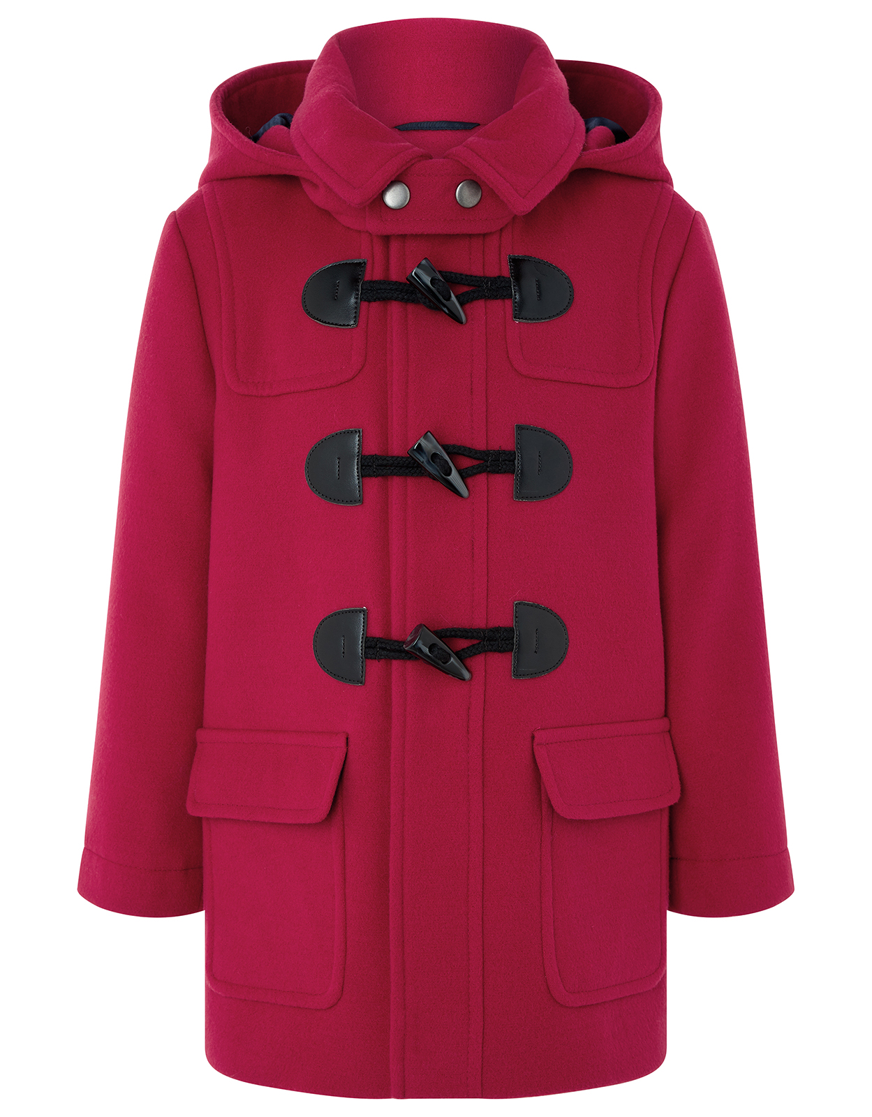 Monsoon Rory Red Duffle Coat