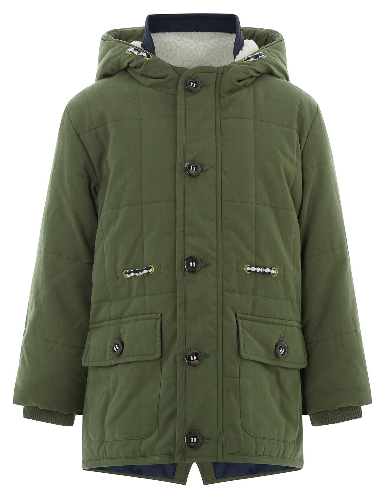Monsoon Blake Borg Parka Coat