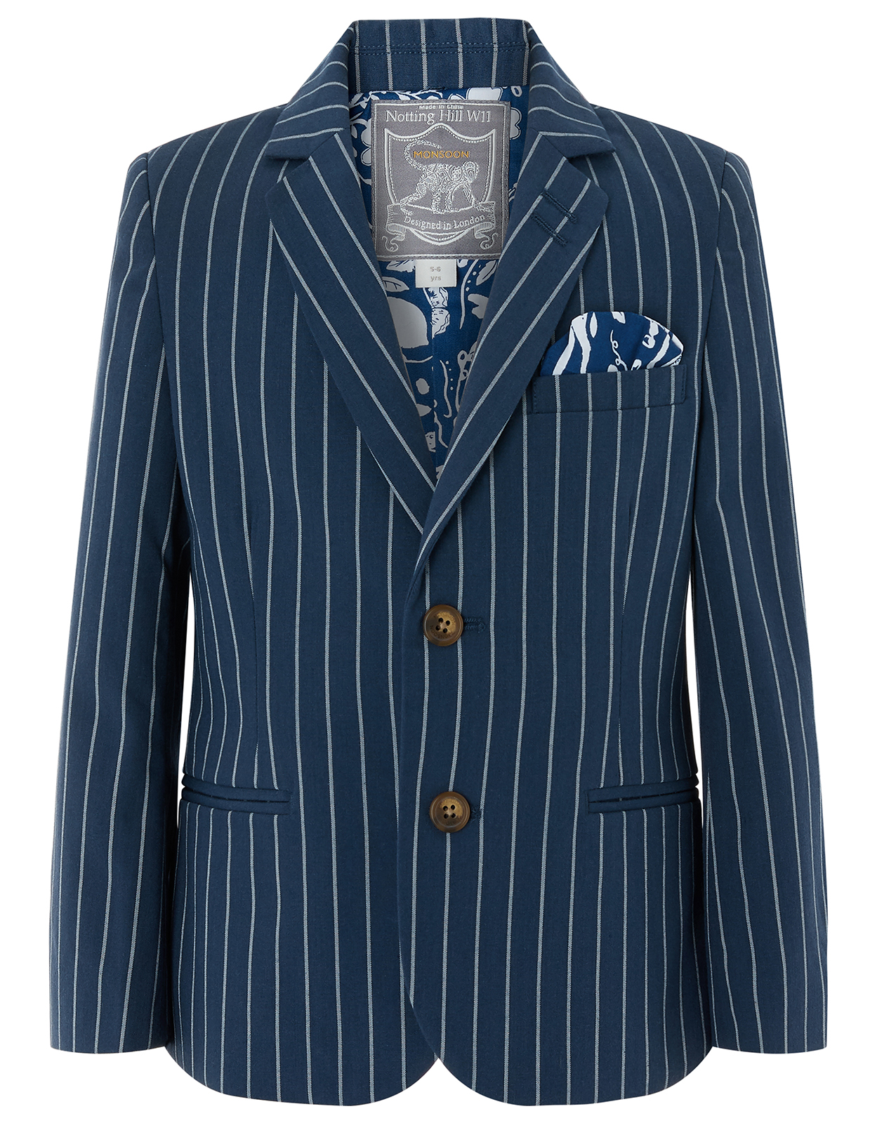 Monsoon Finn Stripe Suit Jacket