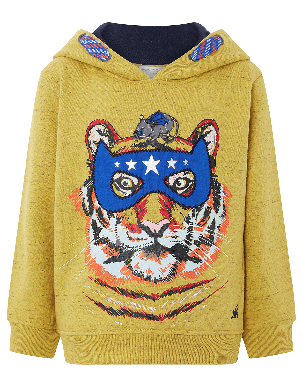 Monsoon Theo Tiger Hooded Jumper