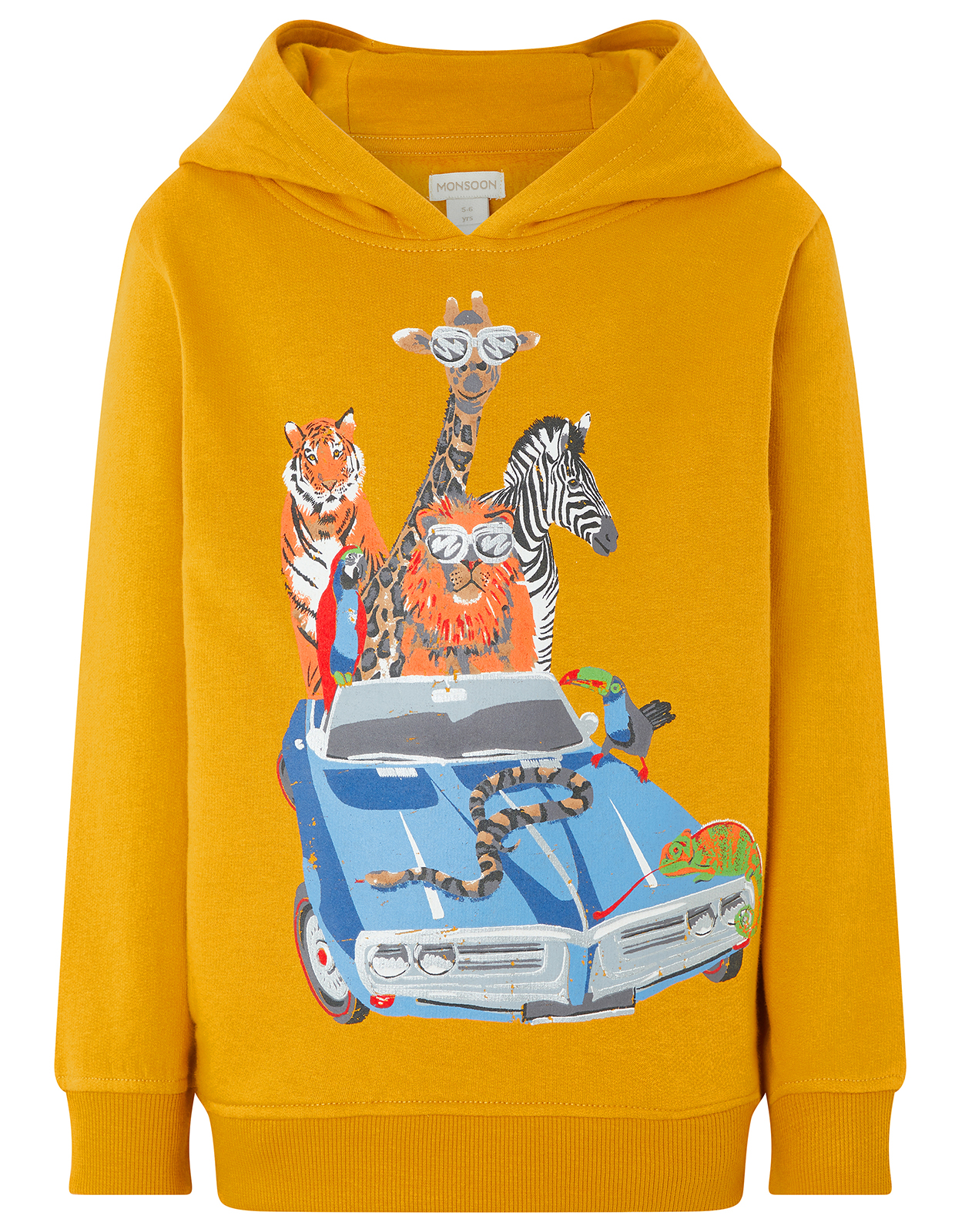 Monsoon Gus Jungle Car Hoodie