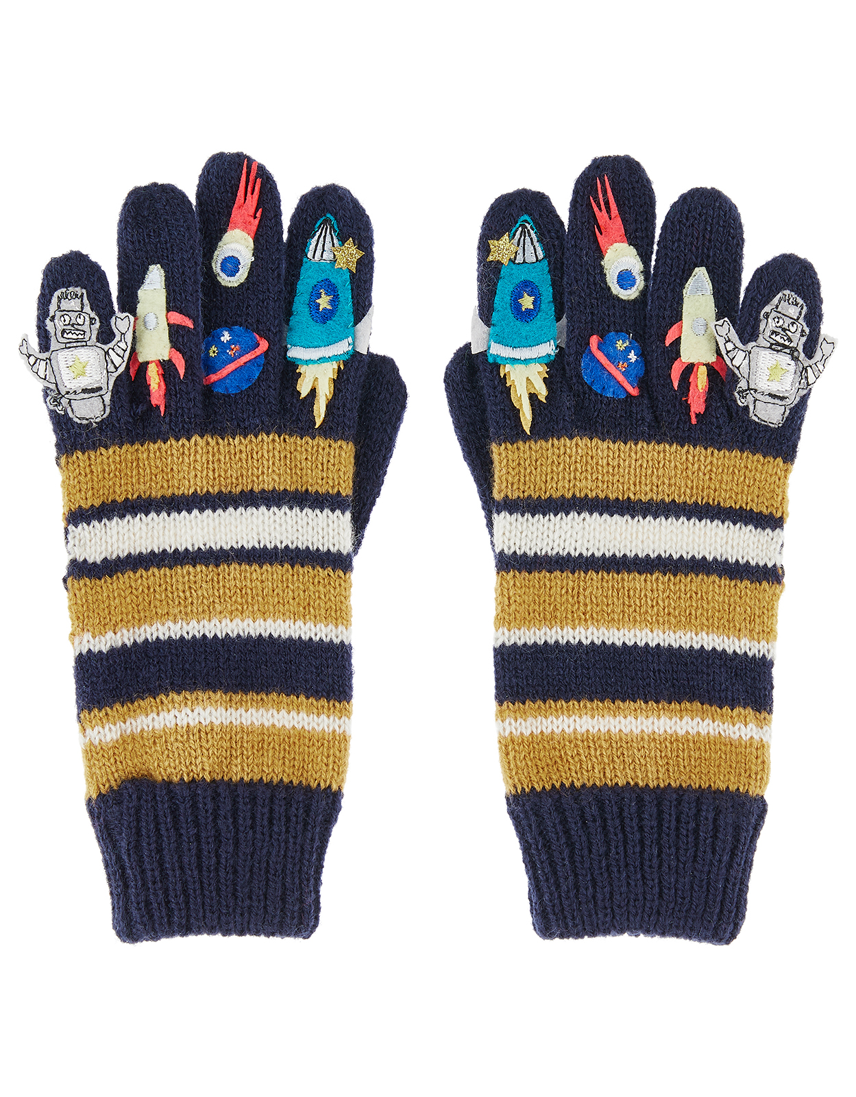 Monsoon Boy Space Novelty Gloves