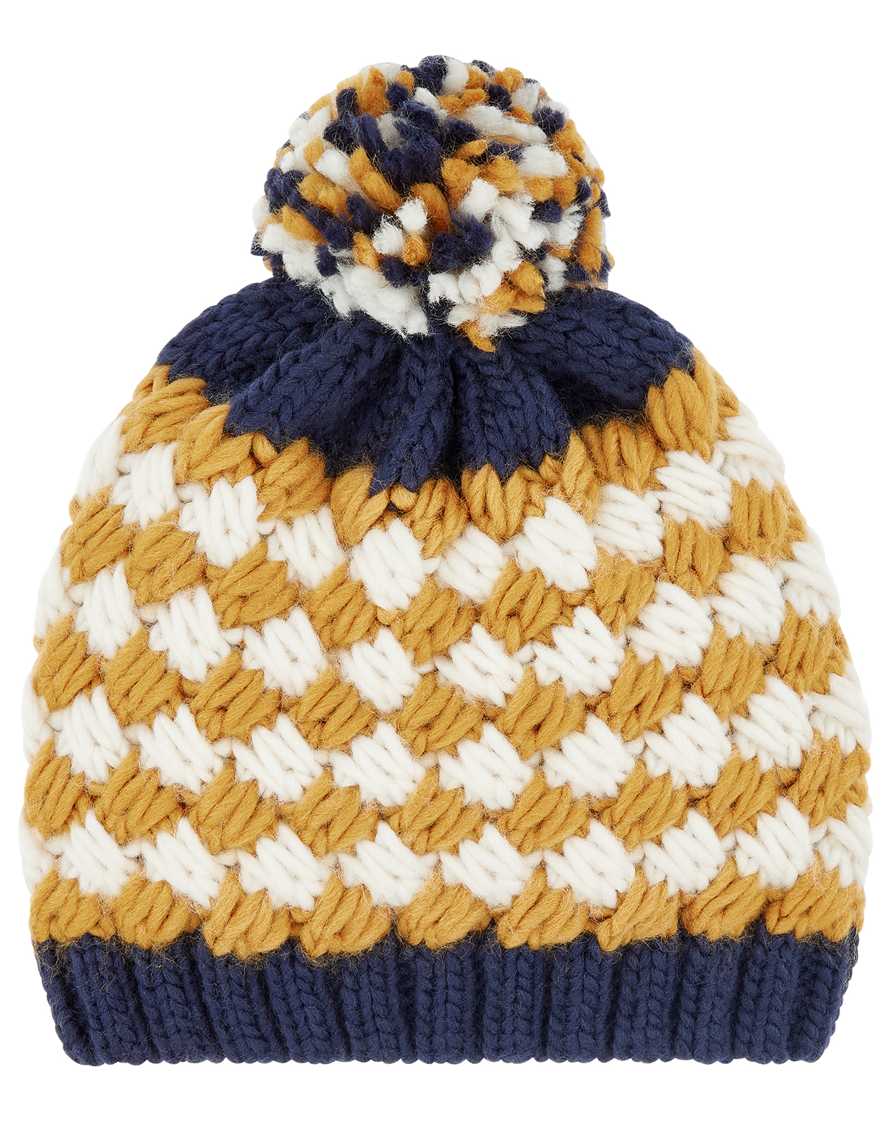 Monsoon Boy Jacob Stripe Bobble Hat