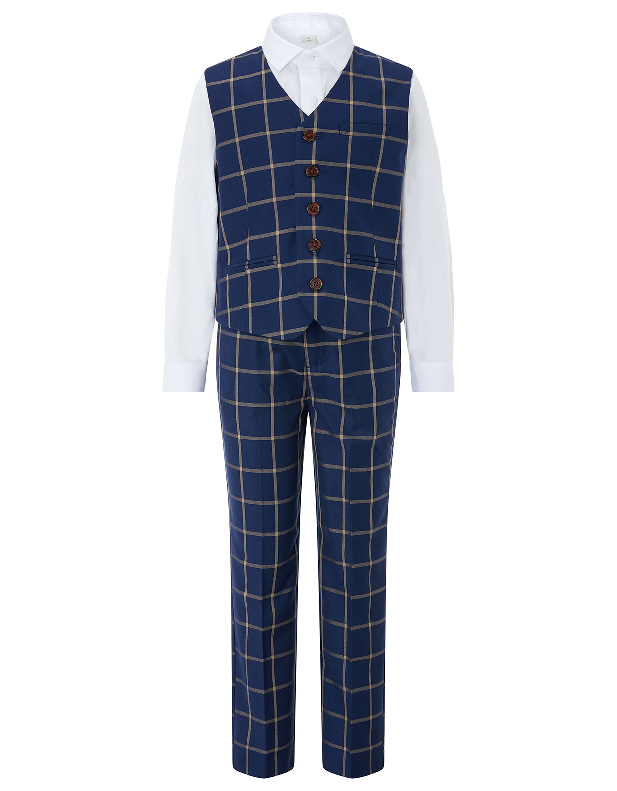 Monsoon Dustin 3PC Waistcoat Suit Set