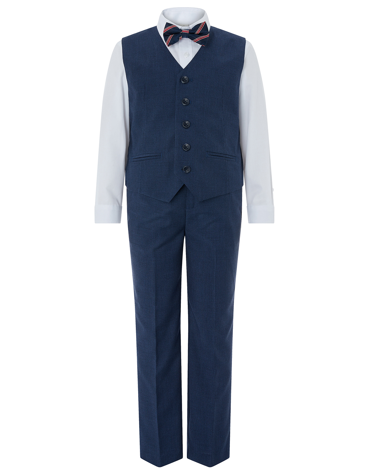 Monsoon Samual 4pc Waistcoat Suit Set