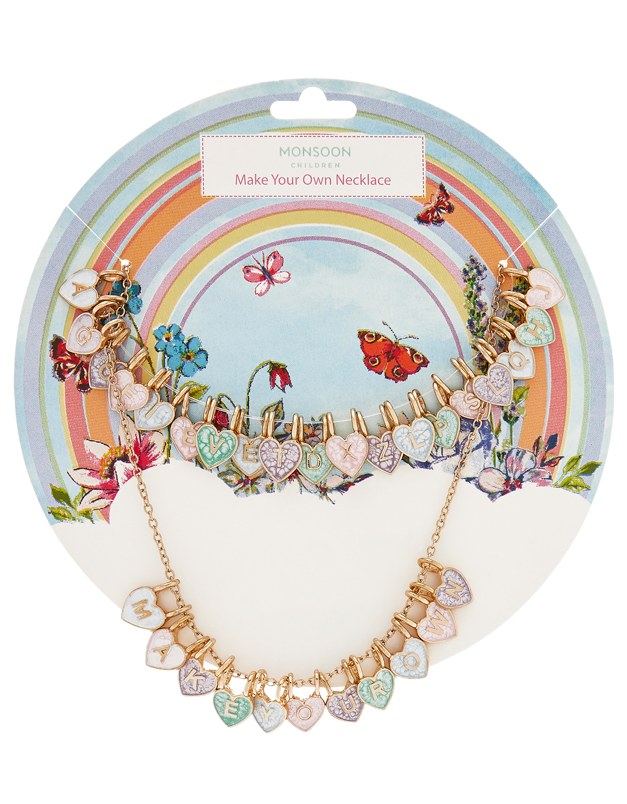 Monsoon Rainbow Dreams Make Your Own Necklace