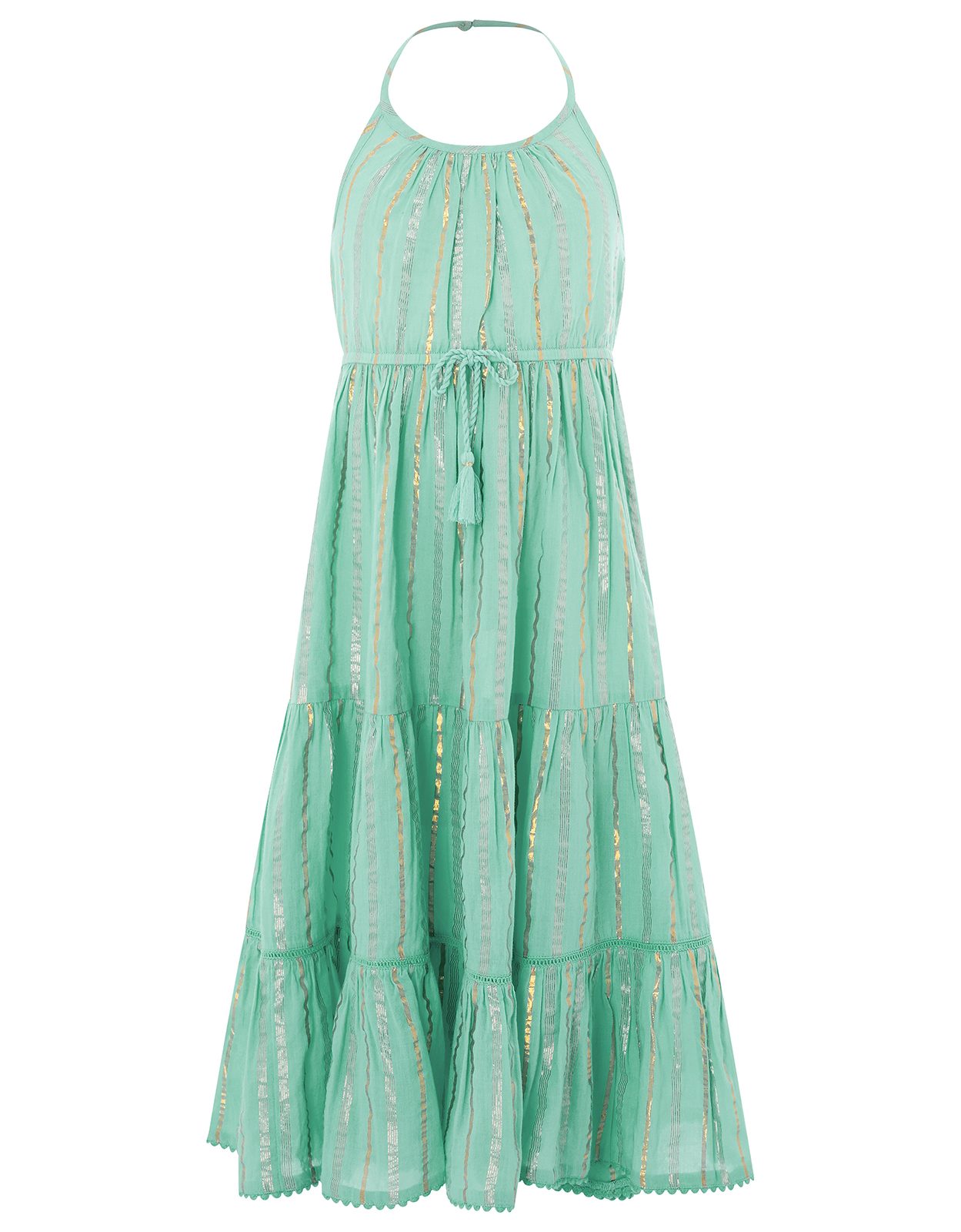 Monsoon Sparkle Stripe Maxi Dress