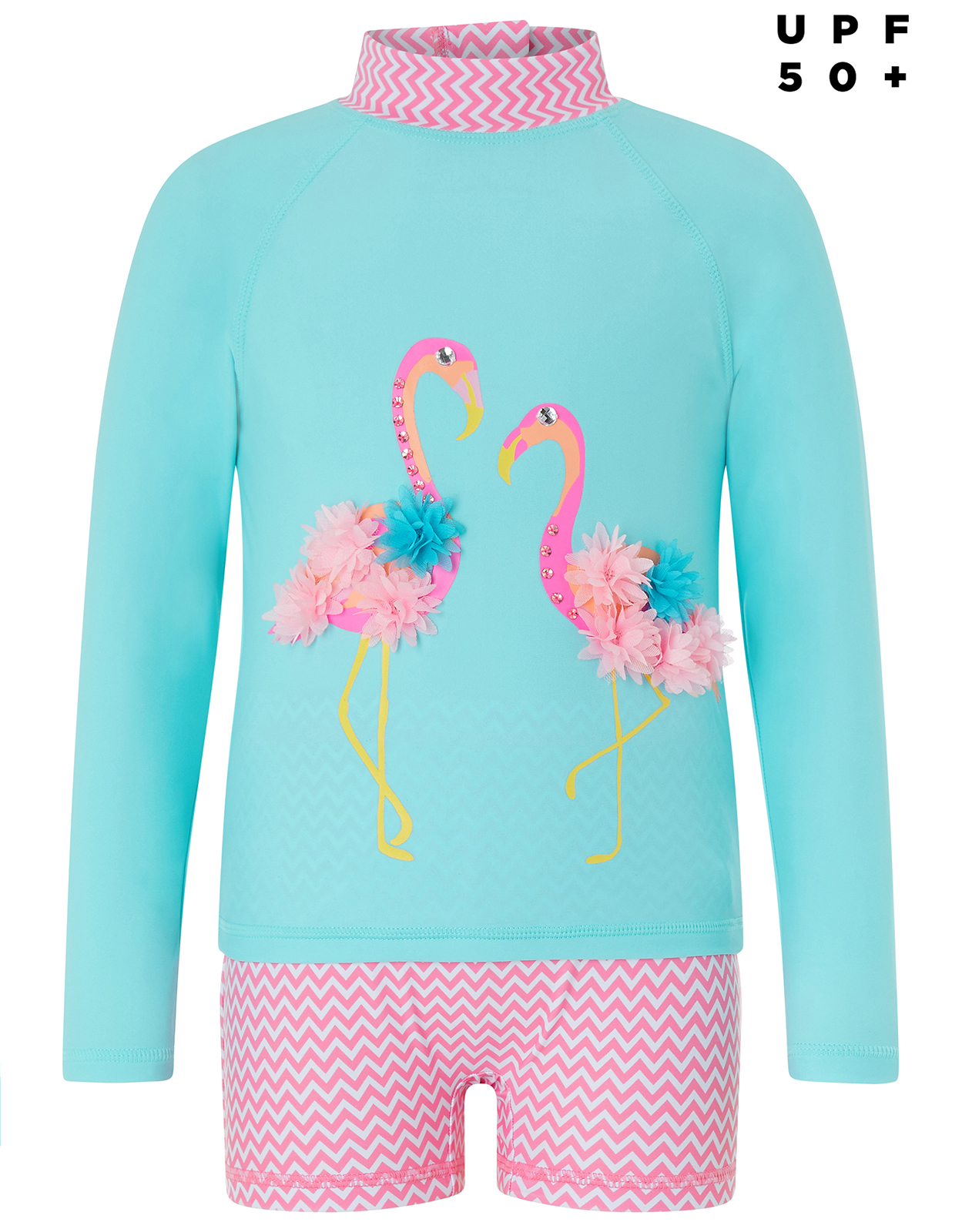 Monsoon Finessa Flamingo Sun Safe Surf Suit
