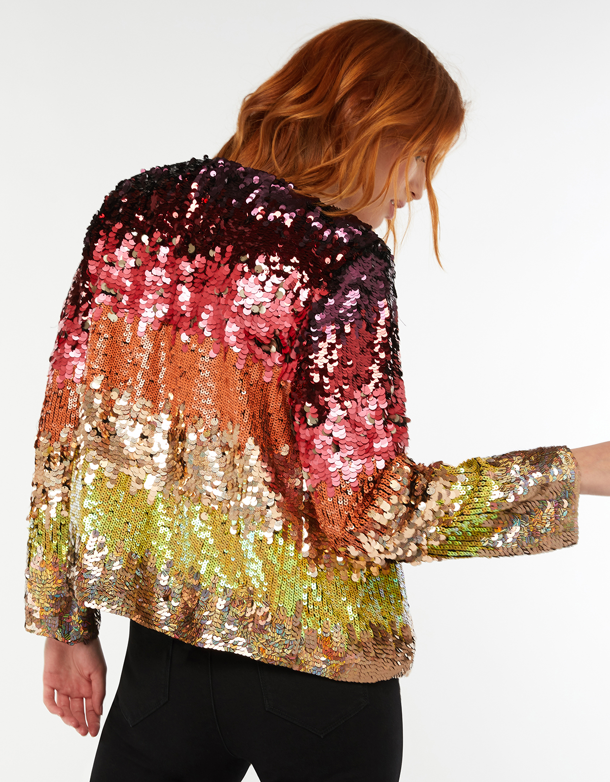 Monsoon Sonique Sequin Jacket