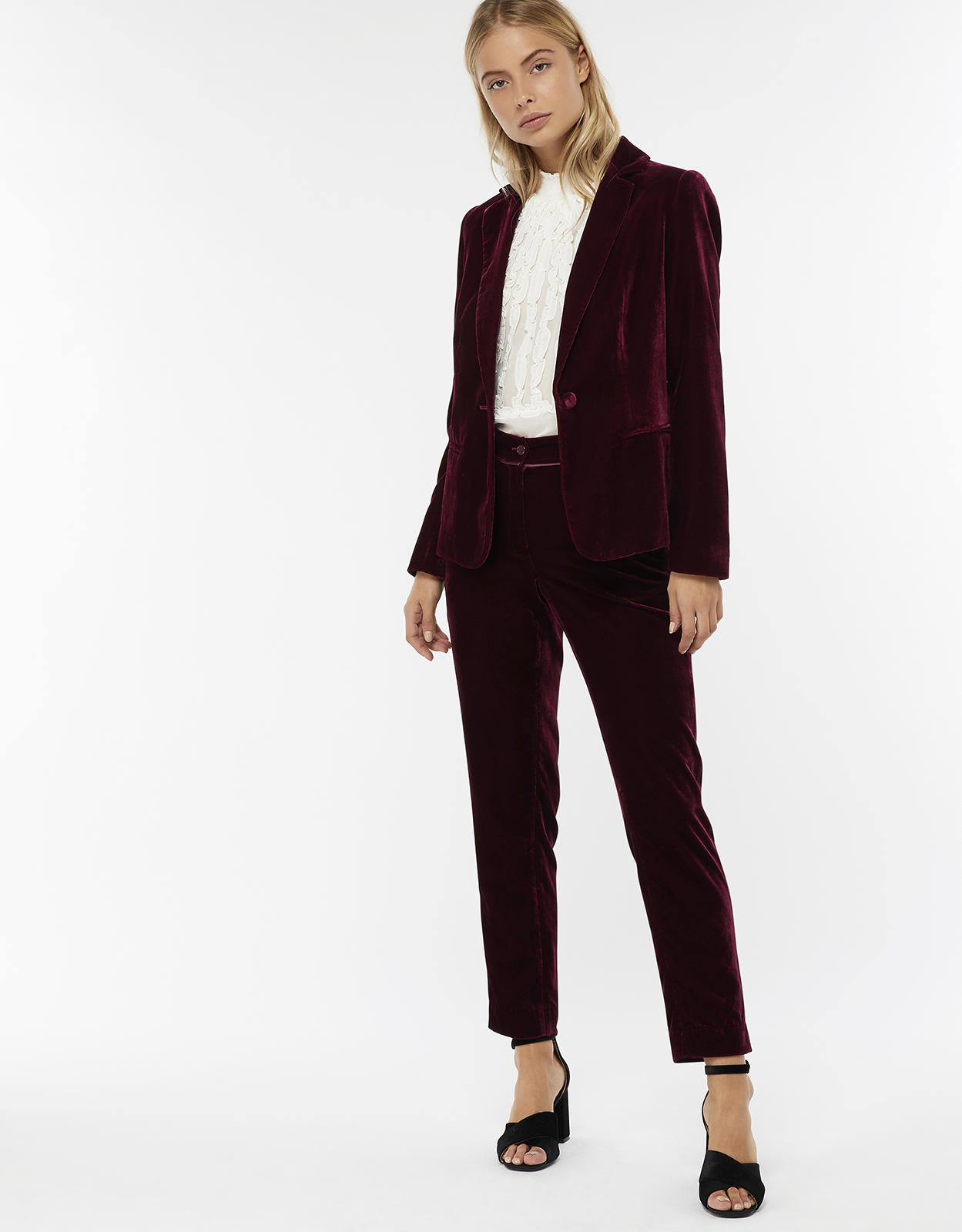 Monsoon Louise Velvet Jacket