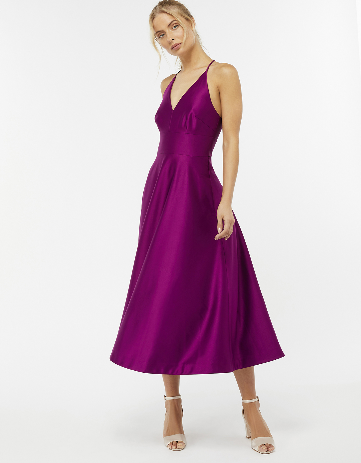 Monsoon Stevie Fit & Flare Dress