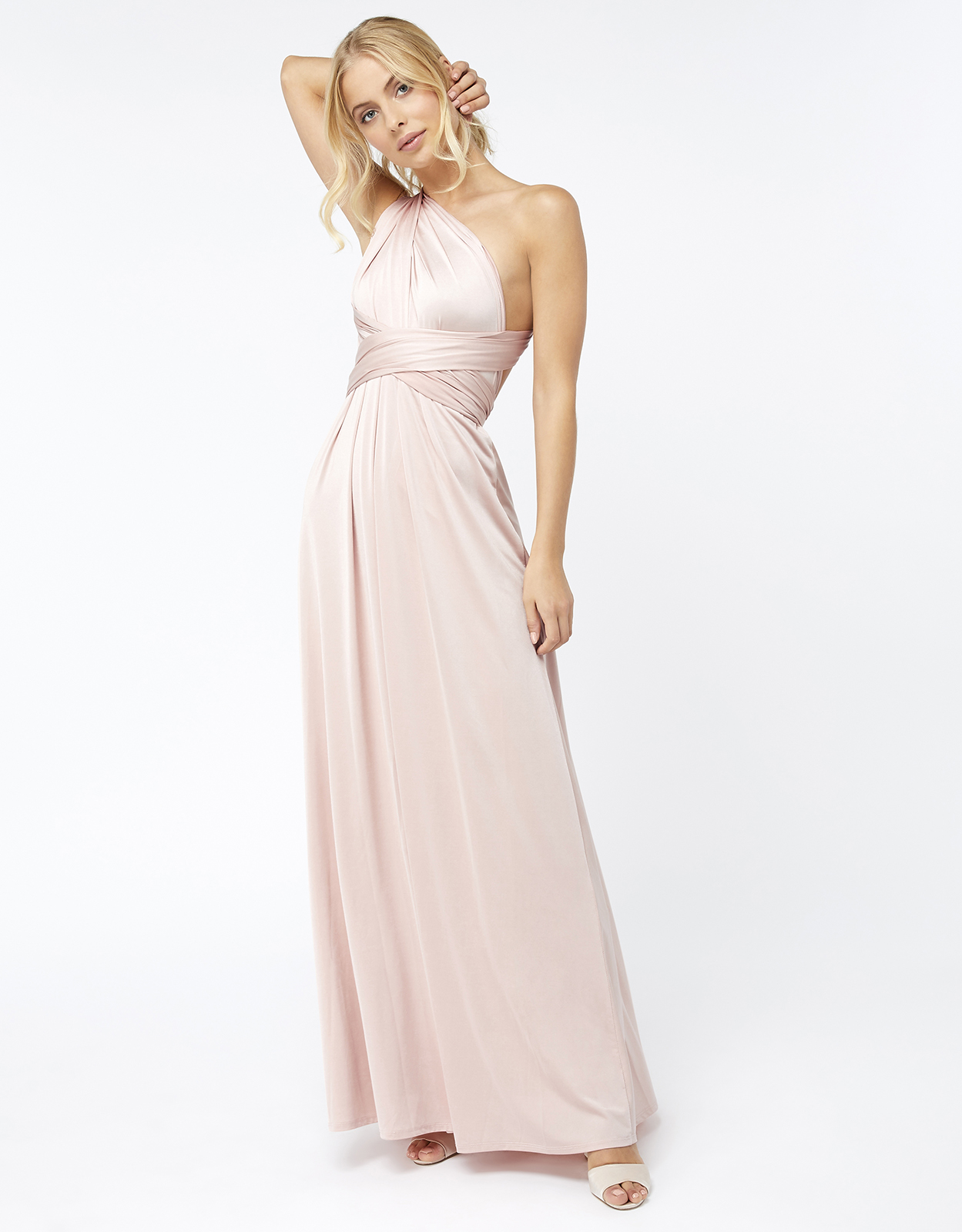 Monsoon Garland Multiway Jersey Maxi Dress