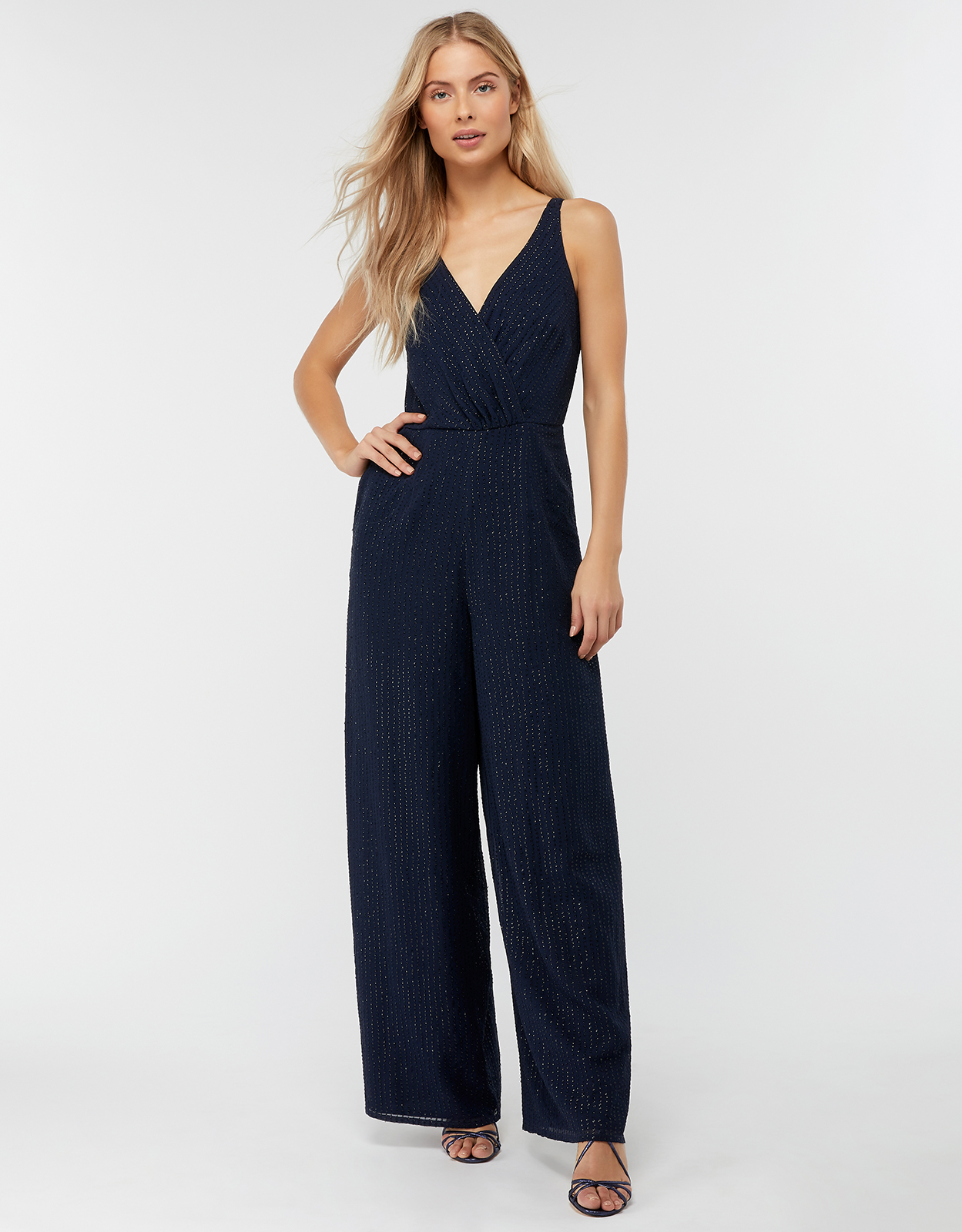 Monsoon Frederique Embellished Sequin Jumpsuit