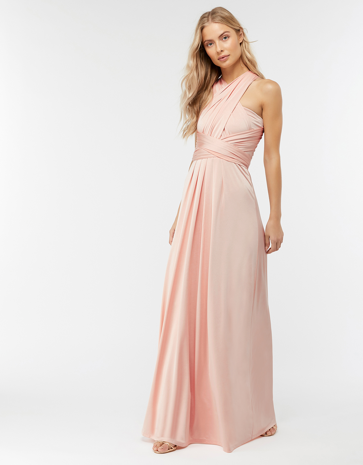 Monsoon Natasha Jersey Maxi Multiway Bridesmaid Dress