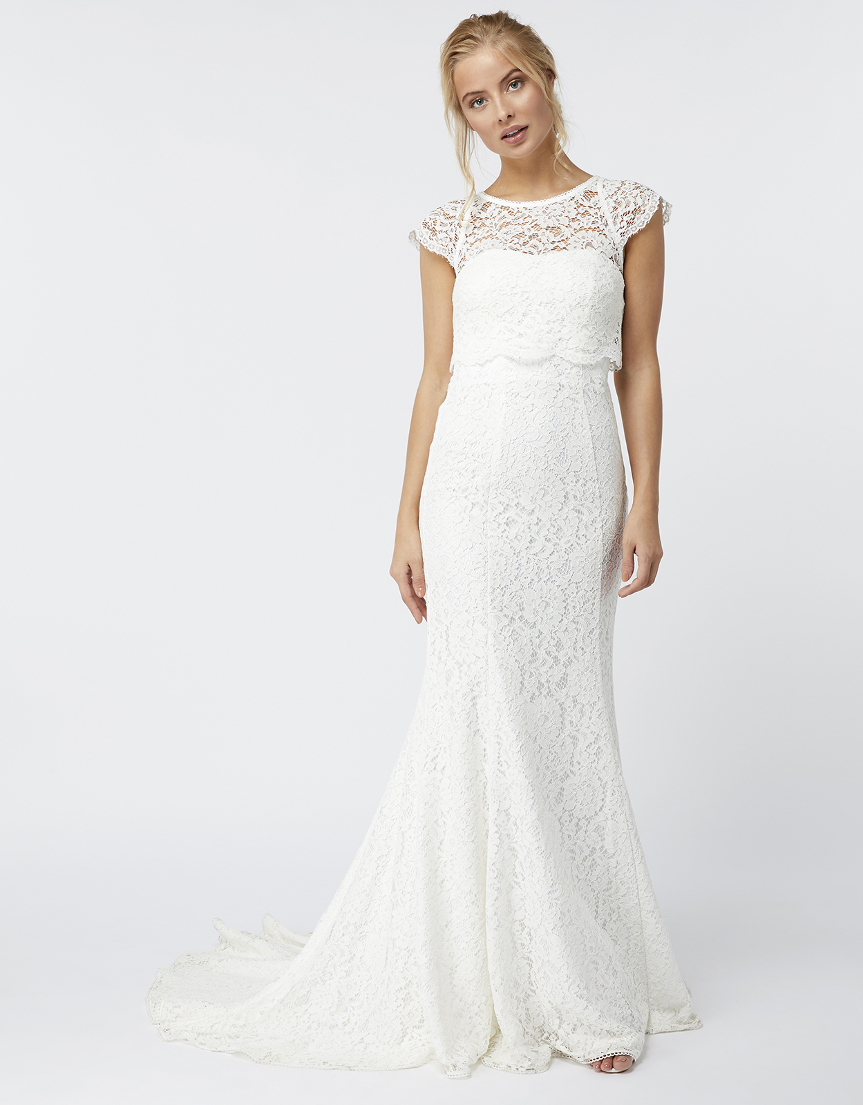 Monsoon Alondra Lace Bridal Dress