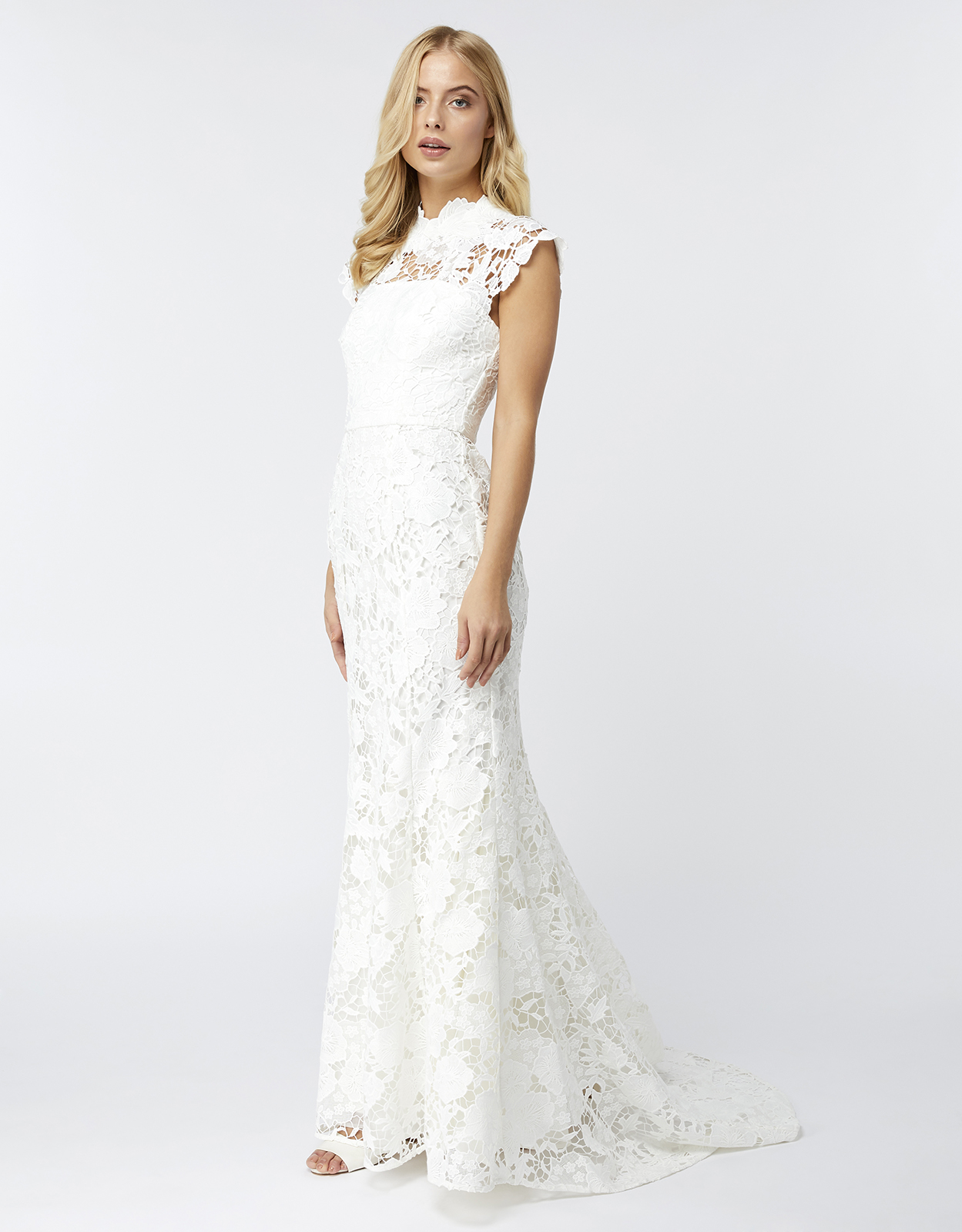 Monsoon Emilie Lace Bridal Maxi Dress