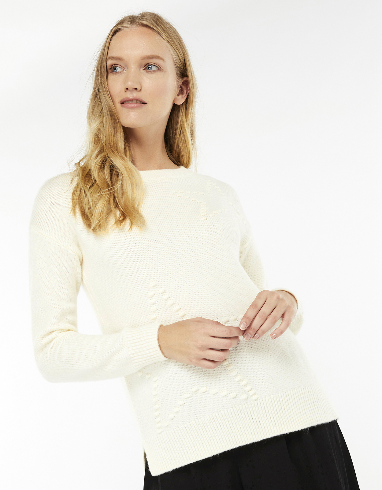 Monsoon Brandy Bobble Star Jumper