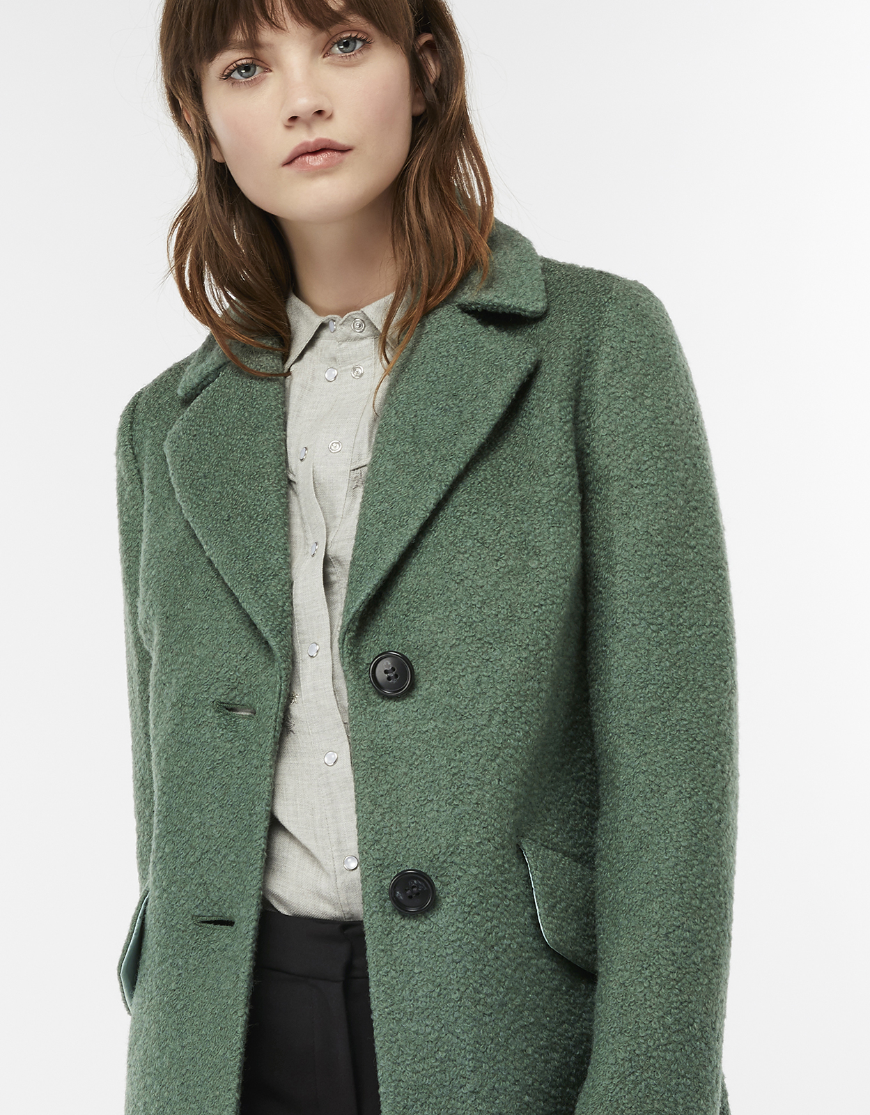 Monsoon Lizzie Boucle Coat