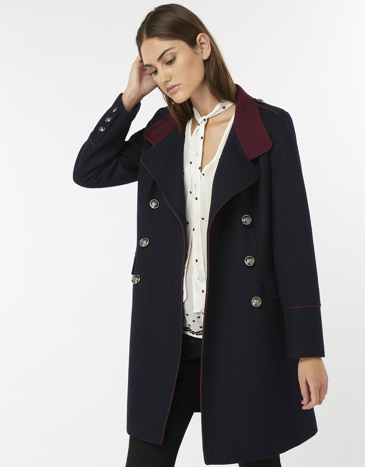 Monsoon Mya Military Coat