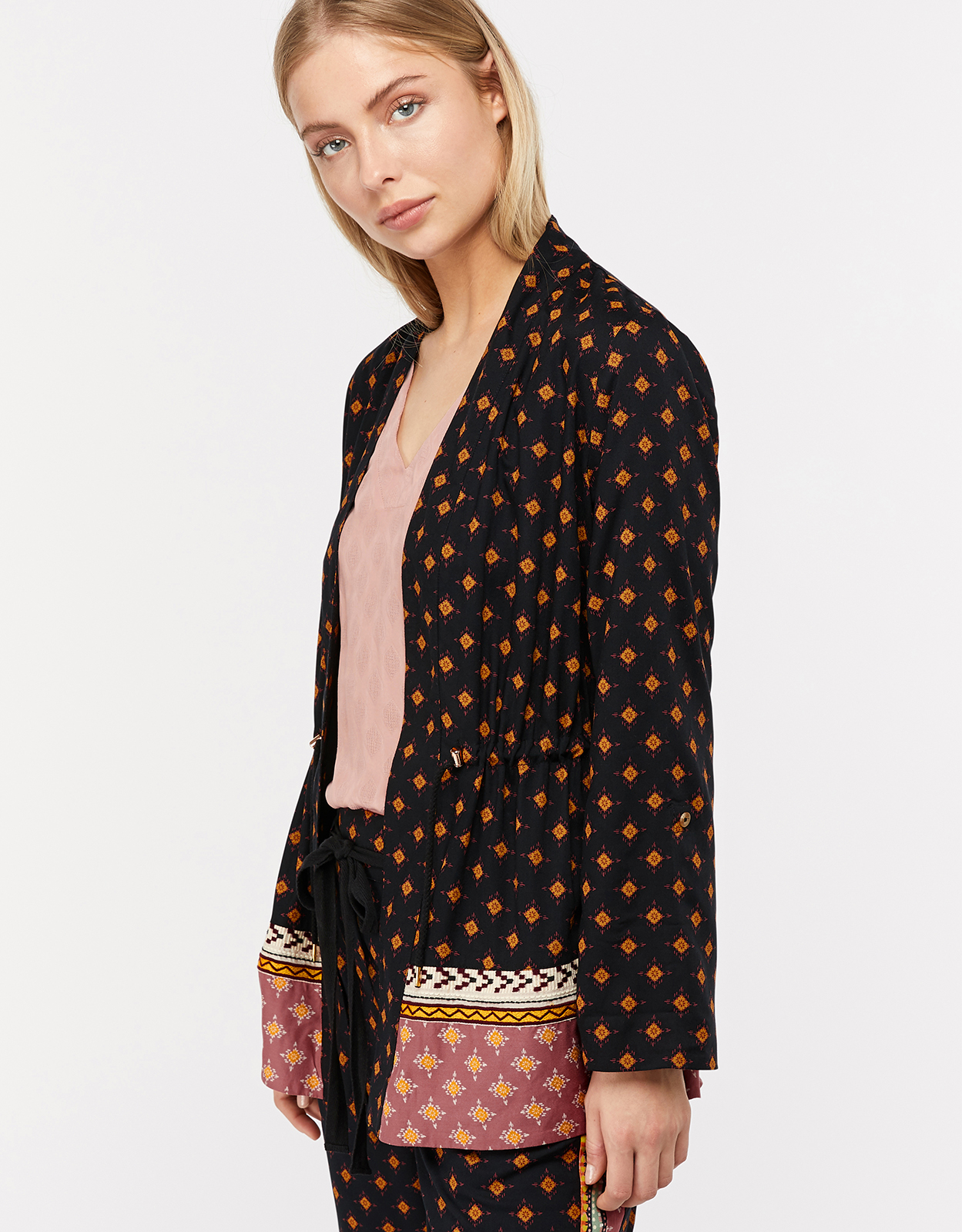 Monsoon Jaya Geo Printed Jacket