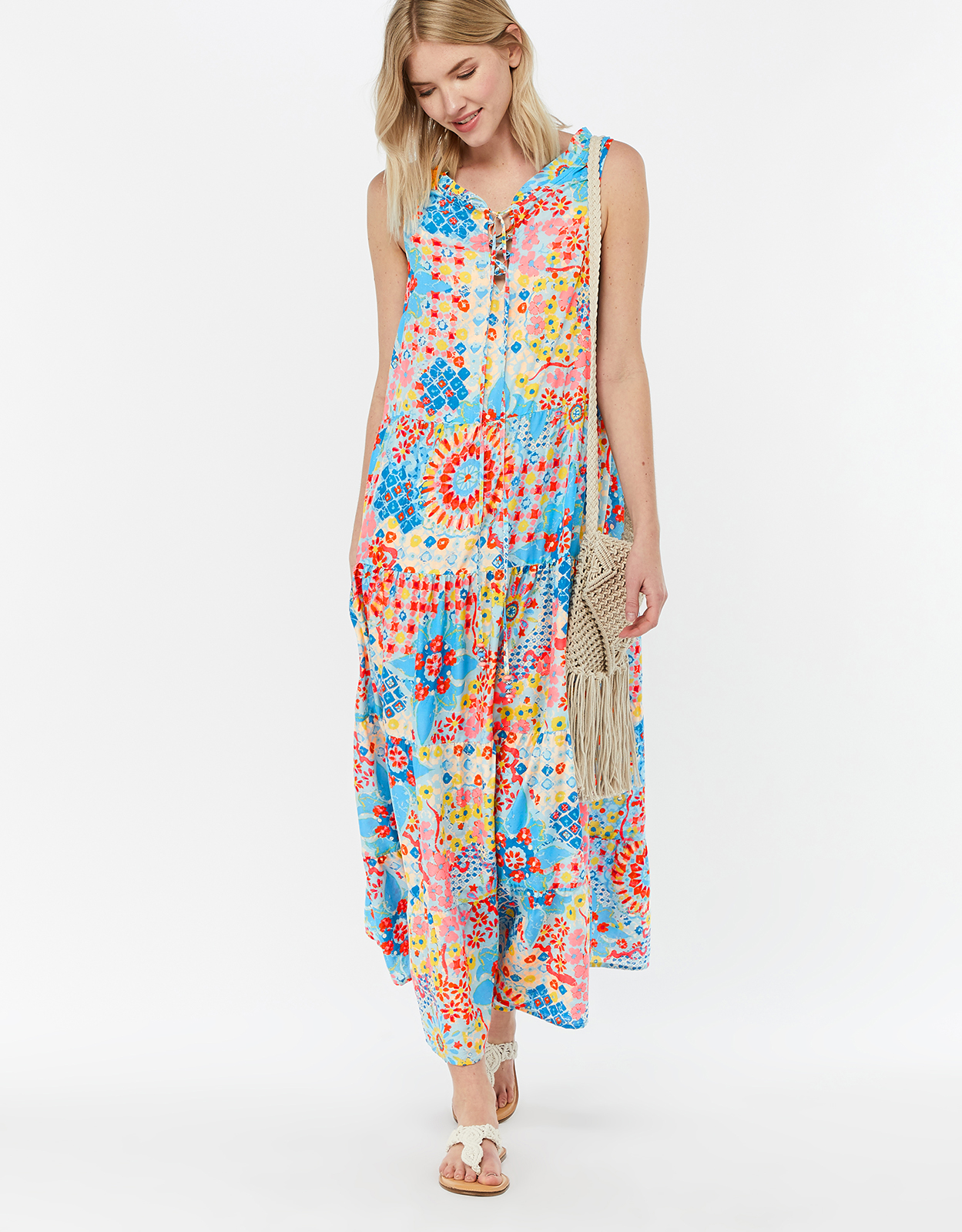 Monsoon Iggy Tiered Maxi Dress