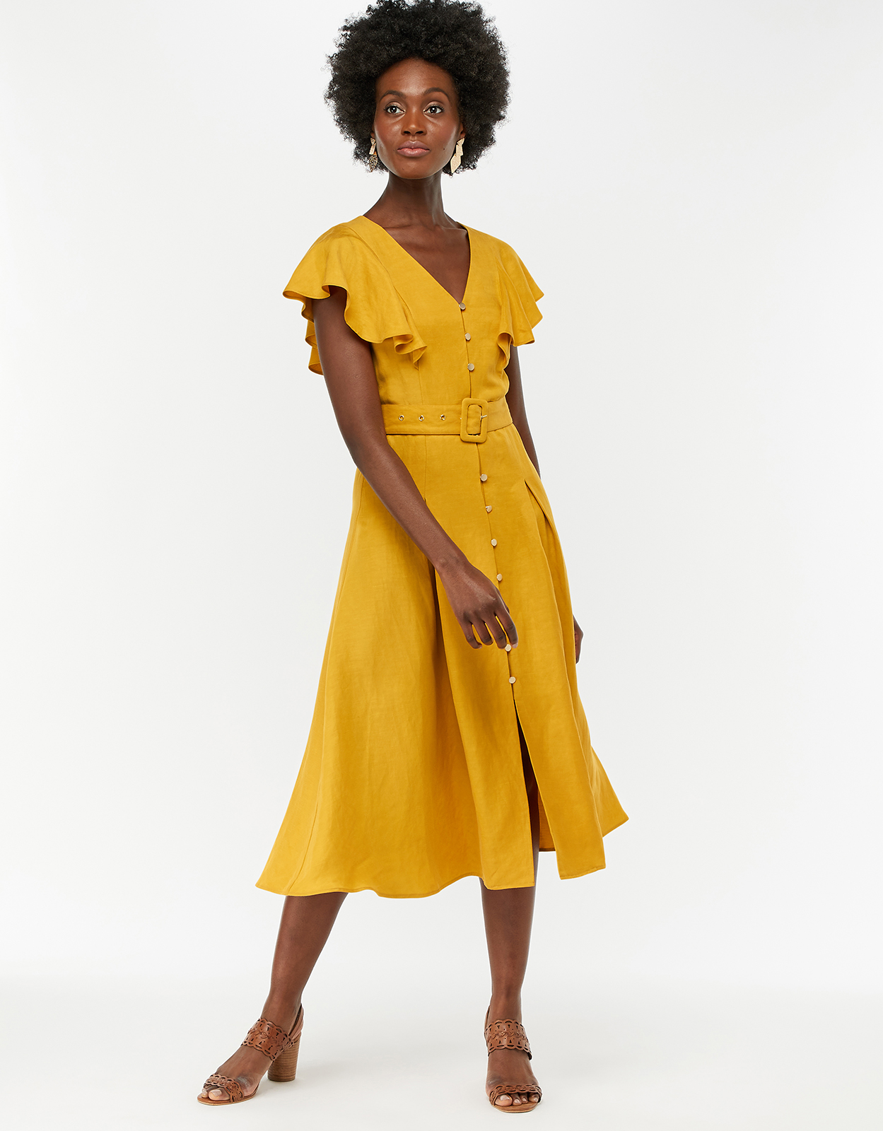 Monsoon Kristina Fit & Flare Dress