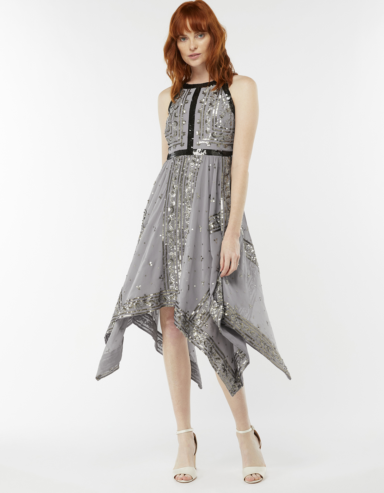 Monsoon Shania Embellished Dress