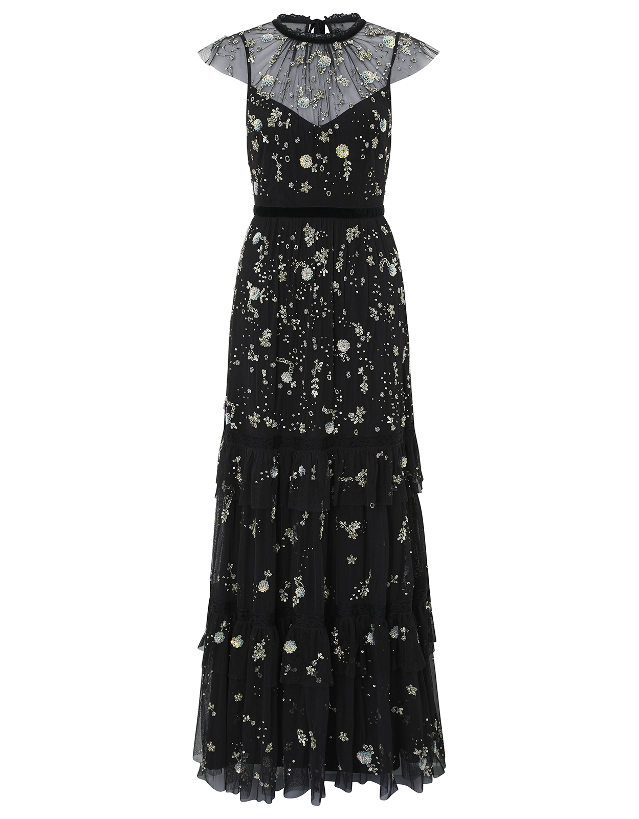 Monsoon Mariah Embellished Maxi Dress