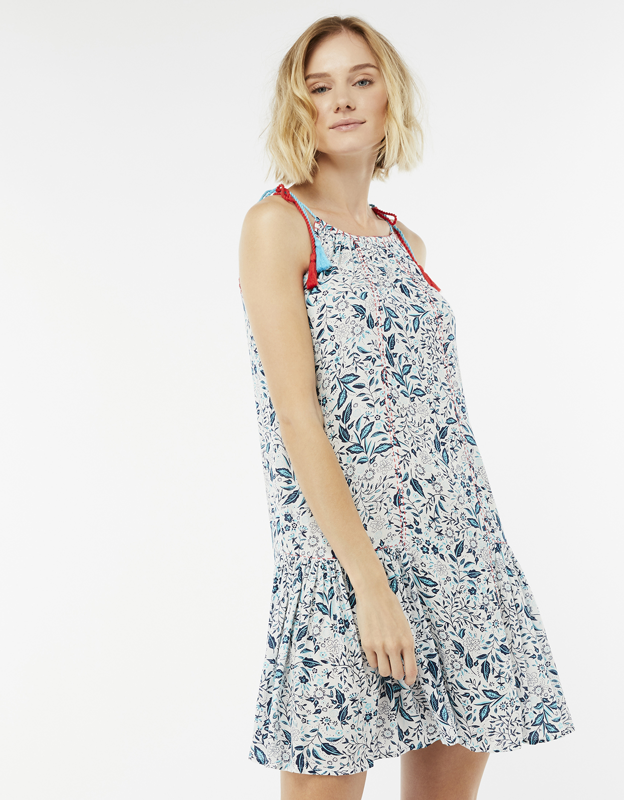 Monsoon Ren Print Dress