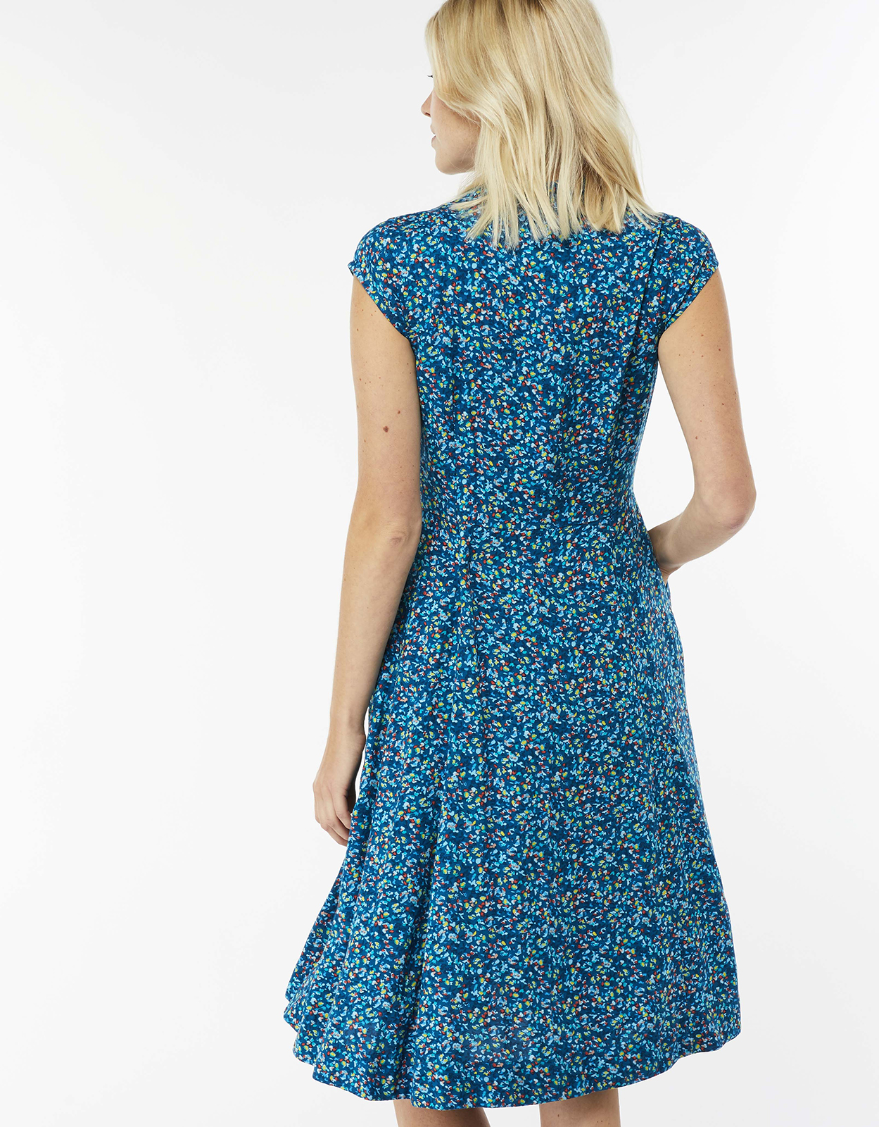 Monsoon Delphine Ditsy Print Shirt Dress