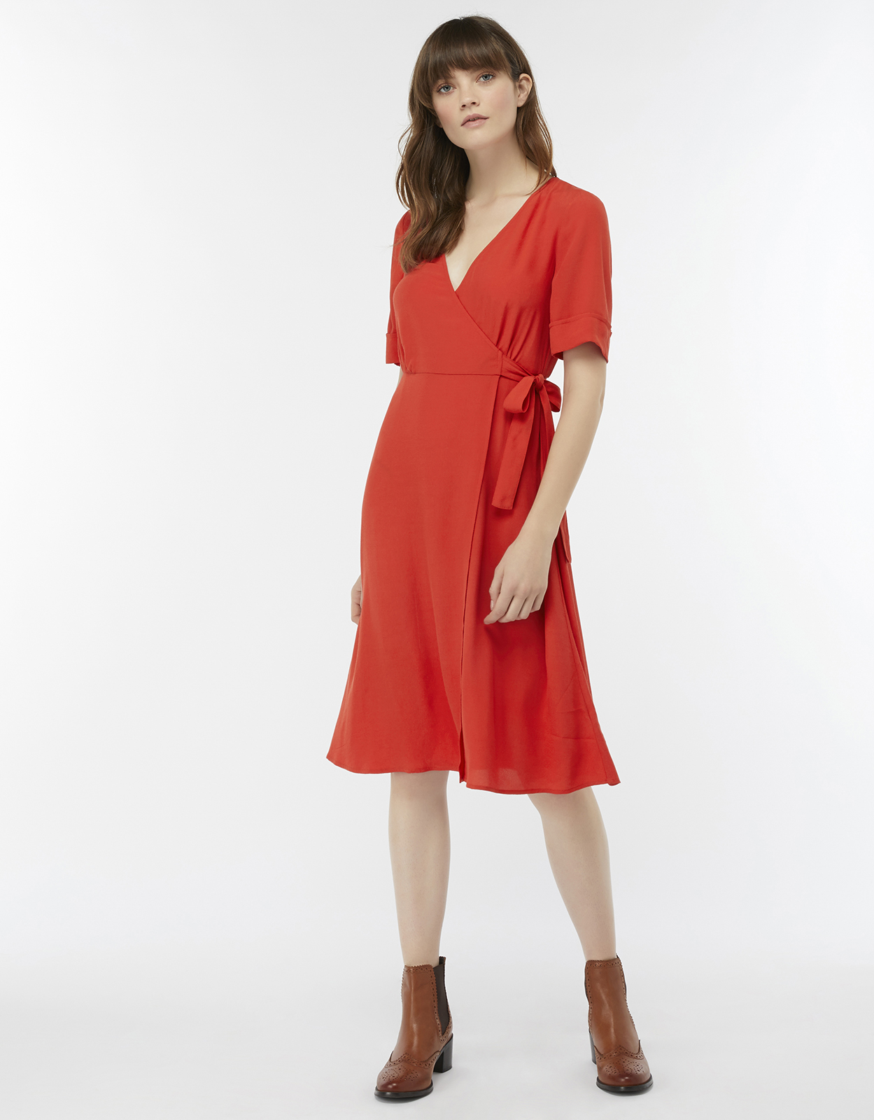 Monsoon Winona Wrap Dress
