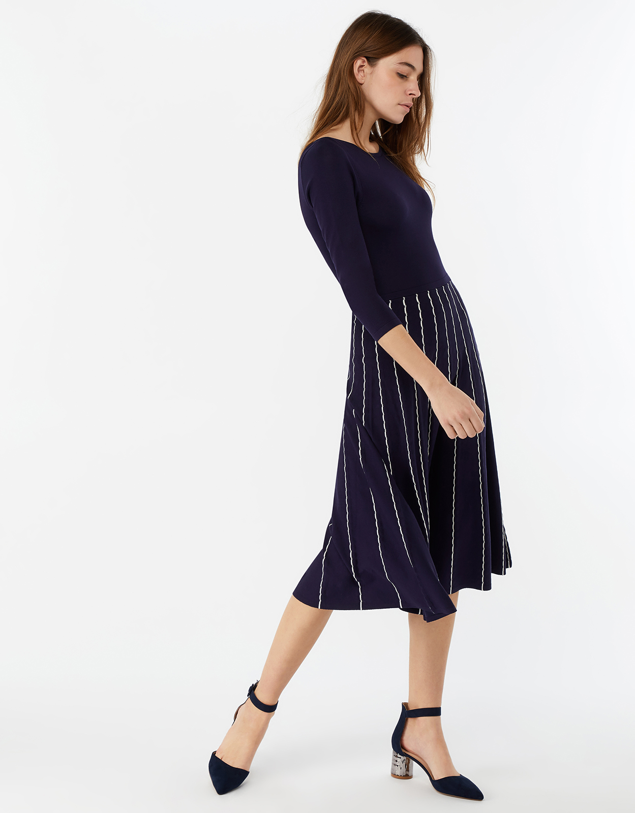 Monsoon Felicity Fit And Flare Dress