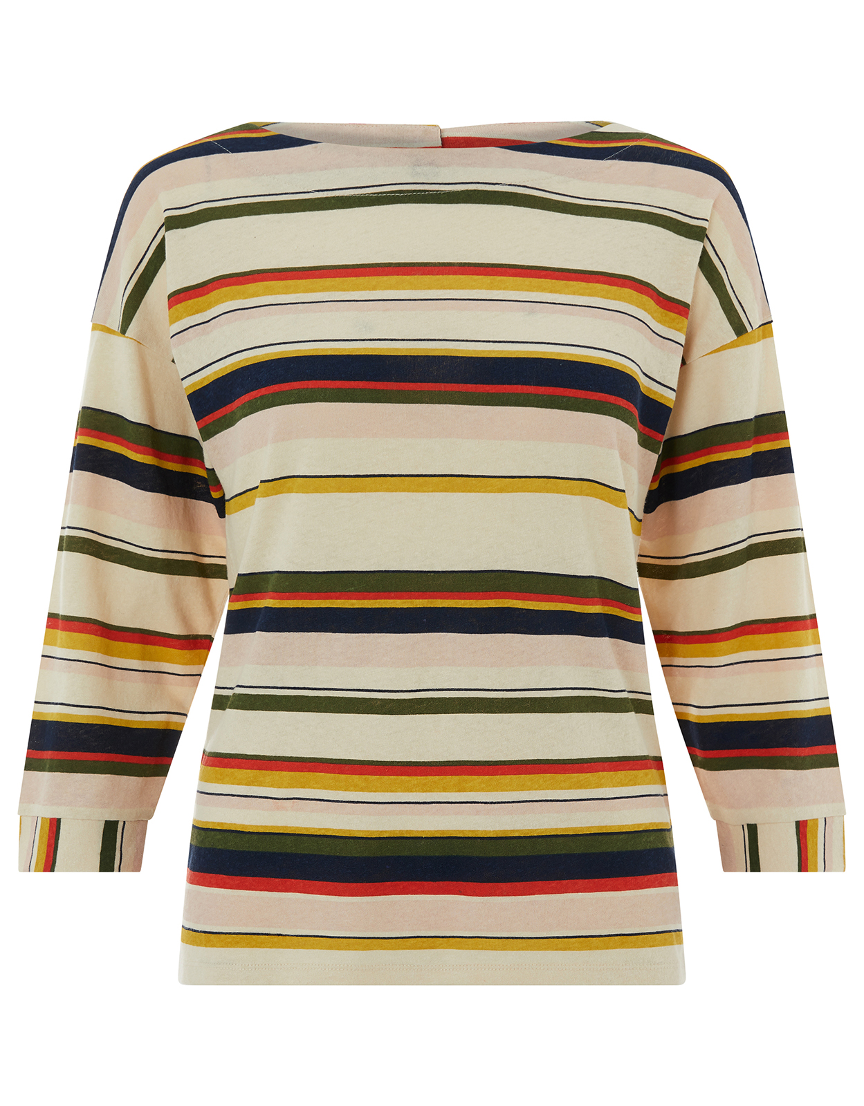 Monsoon Saffa Stripe Print Top