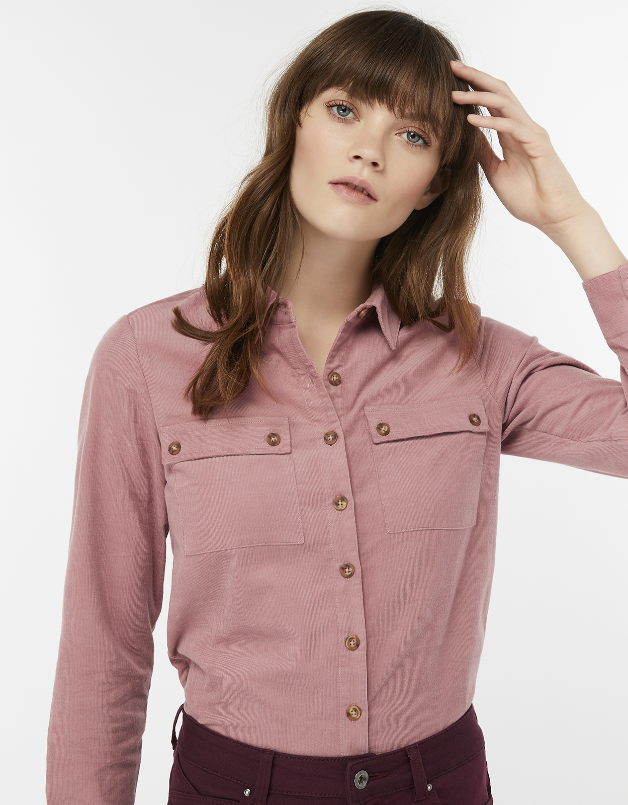 Monsoon Carly Cord Shirt