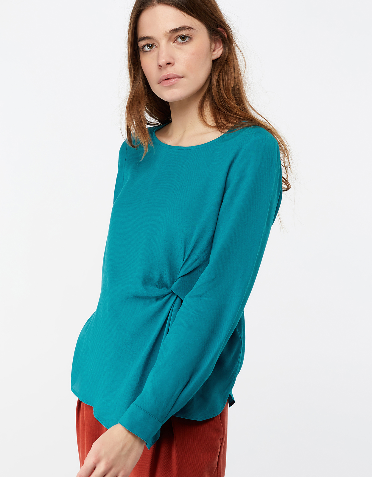 Monsoon Salvador Knot Detail Blouse