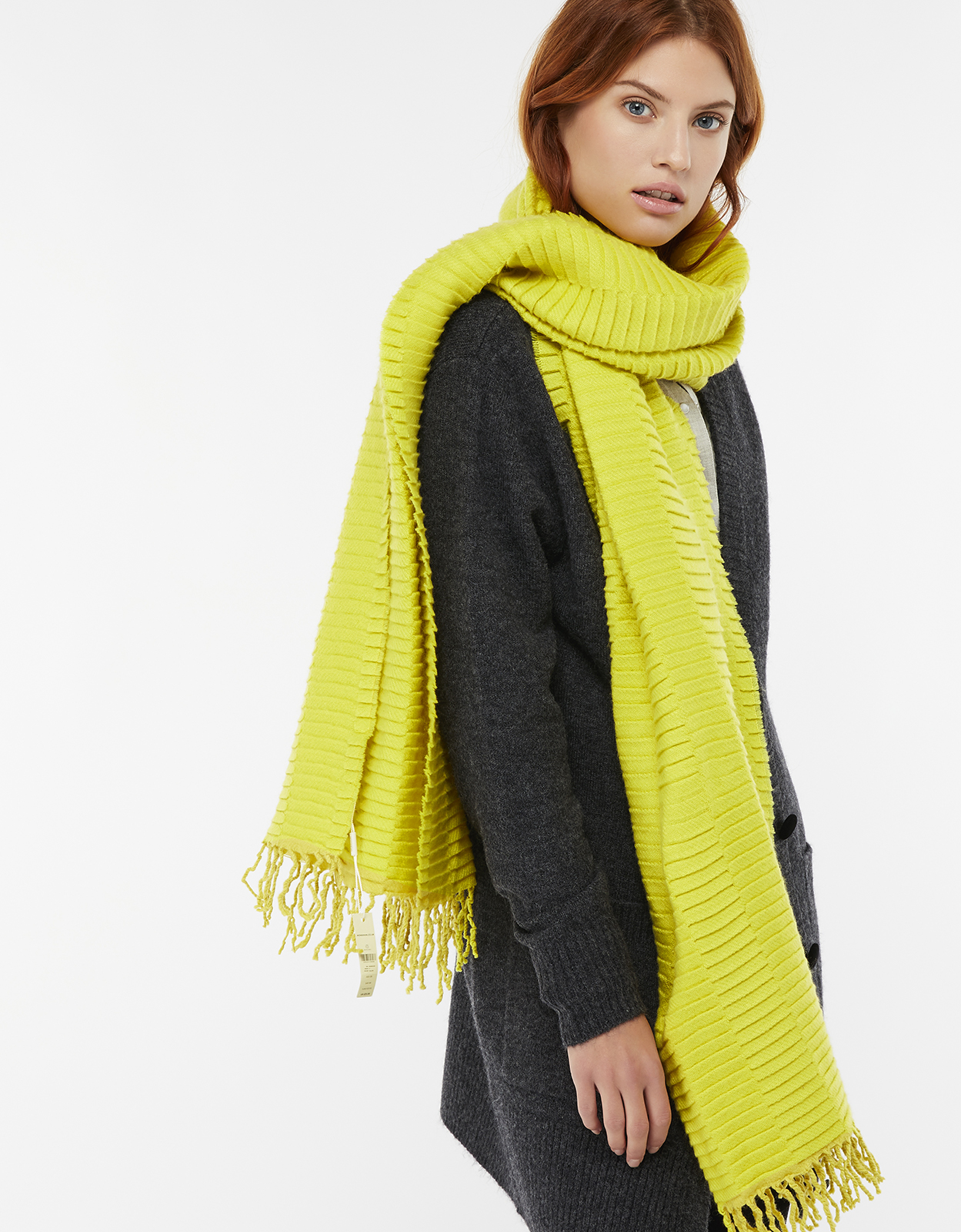 Monsoon Holland Heavyweight Pleated Scarf