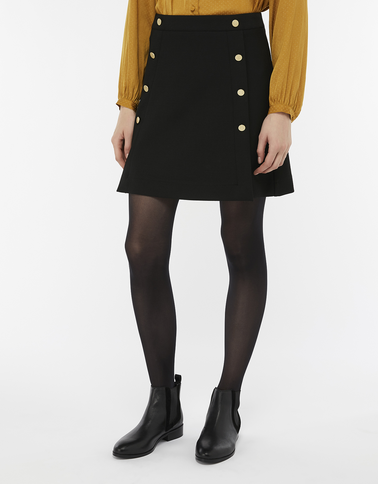 Monsoon Margo Military Skirt