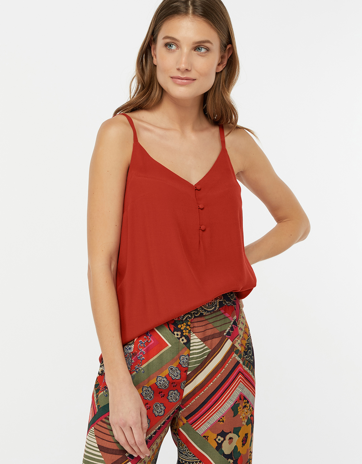 Monsoon Mila Button Cami Top