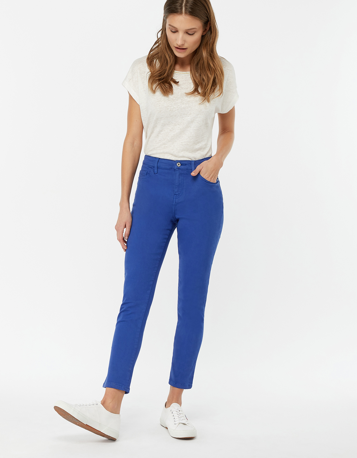 Monsoon Safaia Regular Ankle Crop Jeans